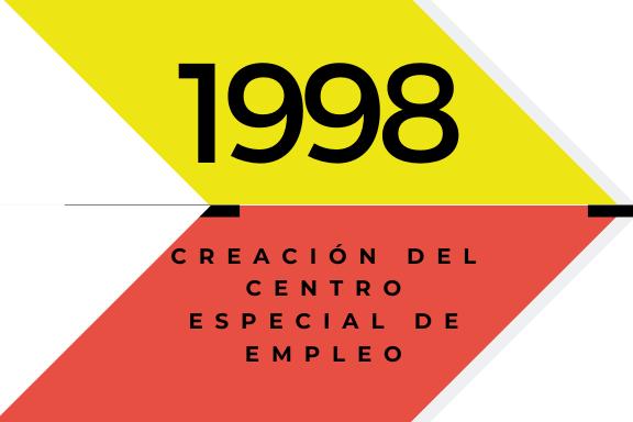 Conoce quienes somos: 1998 Creación del Centro Especial de Empleo