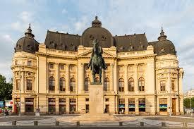 Enlaces de interés en Rumanía/ Imagen Biblioteca Nacional de Bucarest